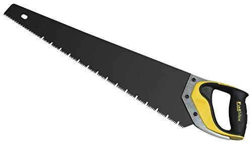 Stanley FatMax 2-20-534 Serrucho FatMax JetCut 550mm para Yeso-Mango trimaterial-2-20-534, Multicolor, Estandar