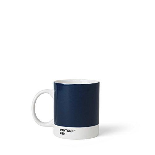 Copenhagen design Pantone Mug, Coffee/Tea Cup, Fine China (Ceramic), 375 ml, Dark Blue, 289 C, Porcelana, One Size