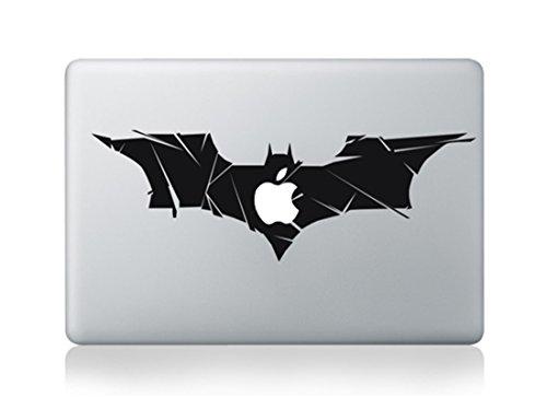 Batman Superman Logo Full Size Large Bat Wings Cartoon Apple Mac Sticker Skin Decal Vinyl Apple MacBook Pro Air 13 15 17 Inch Retina Laptop Wall