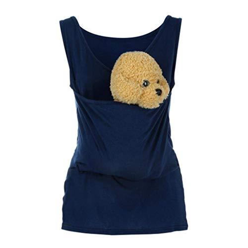 Huixin Ursing T Shirt D Été À Manches Col Vêtements Courtes Gilet Rond Bébé Sling Tshirt Tops Blouse Babywears De Maternité Débardeurs pour Femmes Fête des Mères Cadeau Fête des Pères