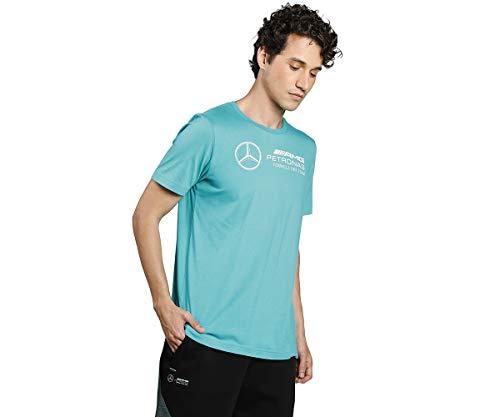 PUMA Mercedes F1 Logo Herren T-Shirt Spectra Green L