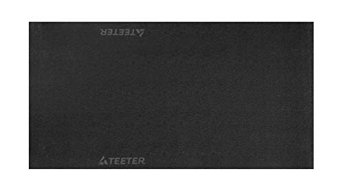 Teeter Heavy-Duty Equipment Mat for FreeStep Recumbent Cross Trainer, Power10 Rower, and FitForm Strength Trainer