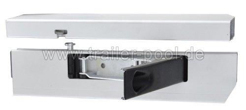 Alu-Einfassverschluss 25 mm für Anhänger-Bordwand 350er rechts