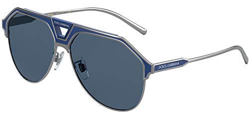 Dolce & Gabbana Gafas de Sol MIAMI DG 2257 Ruthenium Blue/Blue 60/13/150 hombre