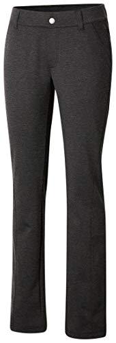 Columbia Damen Outdoor Ponte 93% Polyester/7% Elasthan, Grau (Charcoal Heather), M/R