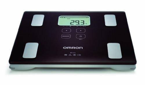 OMRON BF214 - Báscula de composición corporal, color negro