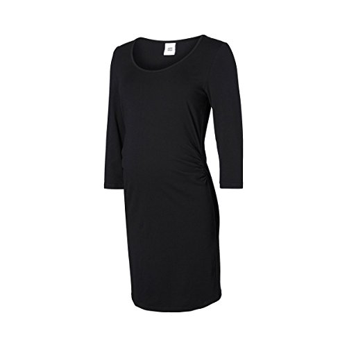 Mamalicious Mllea Org 3/4 Dress A. O. Robe, Noir, XL Femme