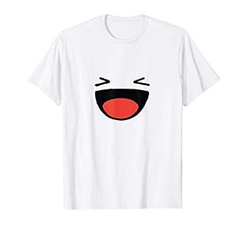 Funny Anime Emoji Face XD For Men Women Kids T-Shirt