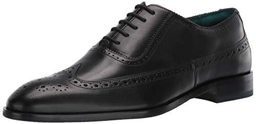 Ted Baker Men's ASONCE Oxford, Black Leather, 14 M US