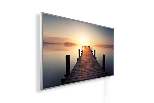 Könighaus Fern Infrarotheizung – Bildheizung in HD Qualität mit TÜV/GS - 200+ Bilder - 1000 Watt (1. Steg gerade)