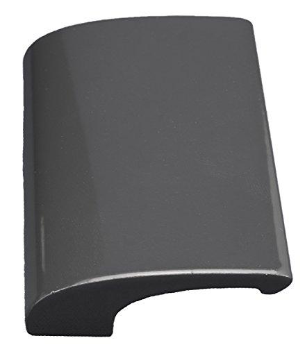CC-Shopping - Griff LUXURY - aus Aluminium inkl. 2 Montageschrauben - ANTHRAZIT - RAL 7016 (Anthrazit - RAL 7016)
