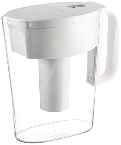 Brita Small 5 Cup Water Filter Pitcher with 1 Standard Filter, BPA...