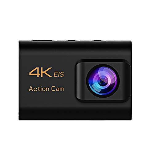 ZCFXGHH Ultra HD 4K Sports Action Camera with EIS Function Remote Controller 30M Waterproof Underwater Video Record Cam with Accessories