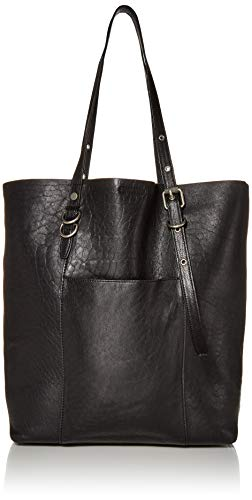 Frye Gia Simple Leather Tote, Black