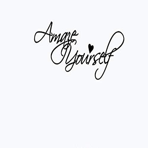 Design with Vinyl US V JER 3337 1 Top Selling Decals Amaze Yourself Wall Art Size: 8 Inches X 20 Inches Color: Black, 8  x 20