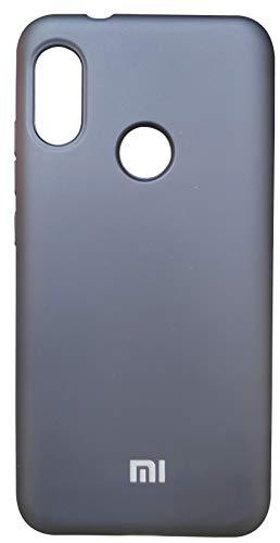 Capa Case Capinha Silicone Aveludado super resistente Celular Xiaomi Mi A2 Lite Preta
