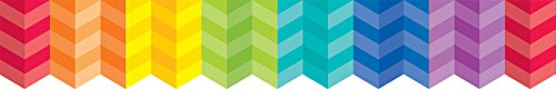 Creative Teaching Press Rainbow Herringbone Borders (0187)