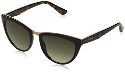 Ted Baker Sunglasses dames Petrine zonnebril, zwart, 55/19-145