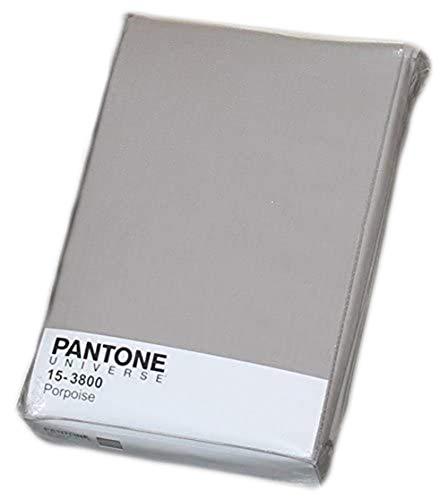 Bassetti Pantone Completo Letto Matrimoniale 100% Cotone 1 Lenz. sopra cm 240x290, 2 Federe cm 50x80 e 1 sotto Angoli cm 180x200 Made in Italy