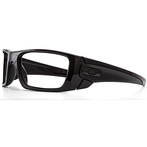 Oakley Fuel Cell X-Ray Safety Radiation Protection Glasses (Polished Black) | Anti Reflective AR Fog Free Lenses