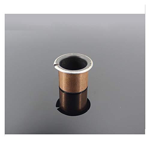 Majhengg SF1-F Oilless Flanged Bushing Bearing SF1-F35300 SF1-F40160 SF1-F40200 SF1-F40260 SF1 Self Composite Flange Bearings 2Pcs (Color : Metallic, Size : SF1 F40160)