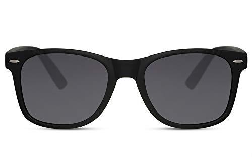 Cheapass Gafas de Sol Negro Mate Nerd Cool Mujer Hombre