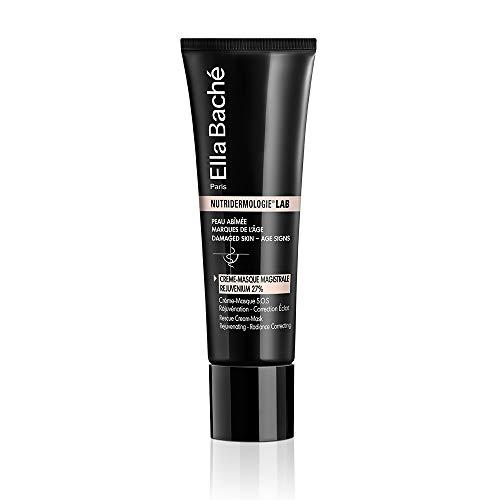 Crème-Masque Rejuvenium 27% - Une crème-masque anti-âge correctrice d'éclat pour une réjuvénation instantanée du visage - Traits défroissés, teint uniformisé, peau rajeunie - Made in France - 50ml