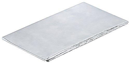 Aluminium folie zelfklevende reflecterende warmte werkbladen beschermers 1000x600mm Pack Size - 1