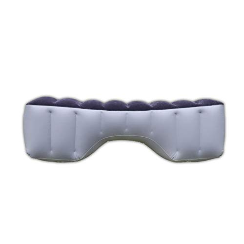 DEDC Auto Aufblasbare Luftmatratze, Universal Auto Rücksitz Gap Pad Kissen Isomatte Luftbett Kissen für Auto Reise Camping 130 * 28 * 42 cm