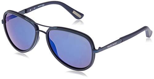 Guess by Marciano Sonnenbrille Gm0735 92X 57 Gafas de sol, Azul (Blau), 57.0 para Mujer