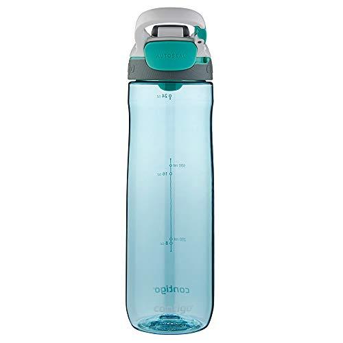 Contigo Trinkflasche Cortland Autoseal, große BPA-freie Kunststoff Wasserflasche, auslaufsicher, für Sport, Fahrrad, Joggen, Wandern, 720 ml