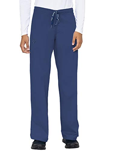 Med Couture Signature Drawstring Pant for Women, New Navy, Large Tall