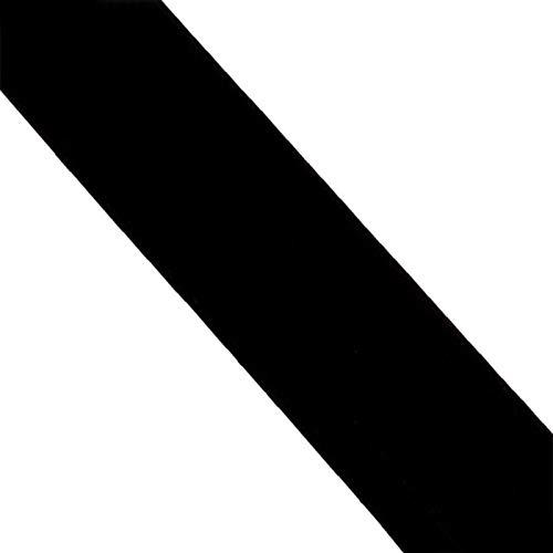 XIAOZHEN Hojas de Fieltro Fieltro para Manualidades por Metros 85cm de Ancho 1mm de Grosor para Costura y Artesanías de Bricolaje(Color:Negro)