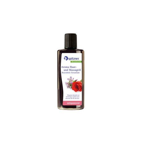 Spitzner Aroma Haut Massageöl Rosenholz Geranium 190 ml