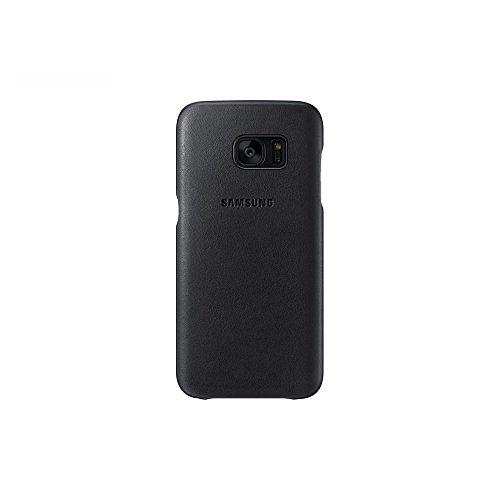 Samsung Leder Cover EF-VG930 für Galaxy S7, schwarz