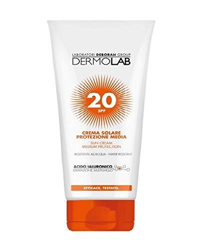 DERMOLAB Soleil Fp20 Minitaglia Crème 50 ml Produit Solaire Pour la Peau