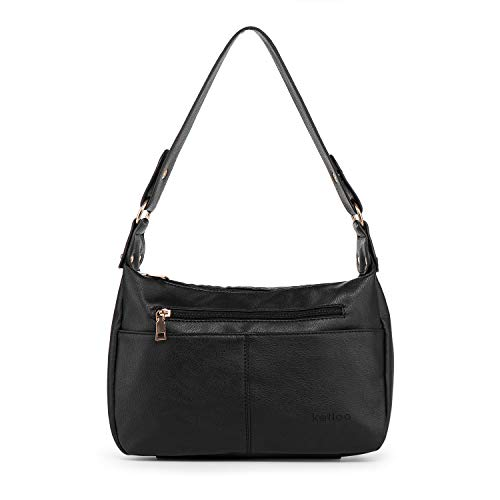 Katloo Mittelgroße Hobo-Tasche für Damen, Handtasche, PU-Leder, Umhängetasche, Schultertasche, Handytasche, Tragetasche, Damen