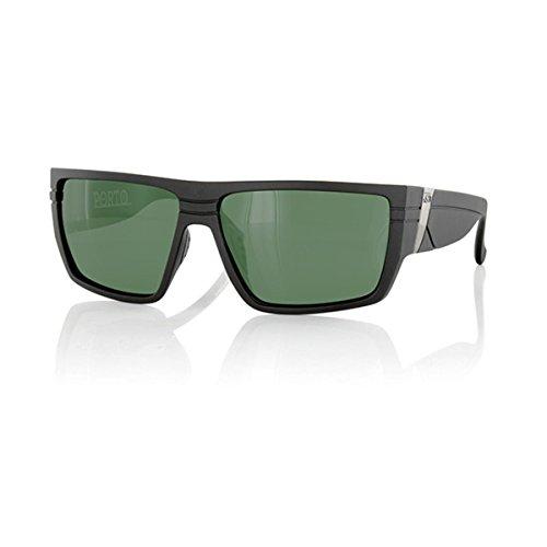 Carve Porto - Gafas de sol polarizadas, color negro mate