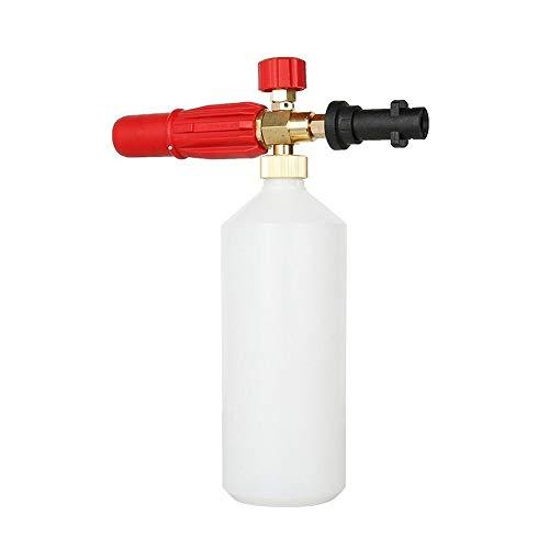 ZHQHYQHHX Autowaschwasserpistole Einstellbare Hochdruckreiniger Schaumkanone Hochdruck-Schaumpistole Washing Zubehör for Kfz-Reinigung Autozubehör