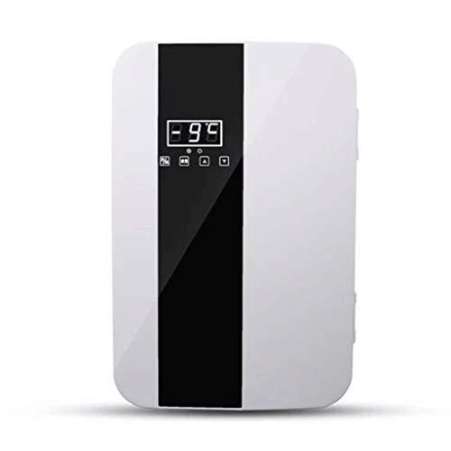 Lyn Mini-koelkast, 22 liter, voor in de auto, kleine thuis, hostelkoeler, dual moedermelk, cosmetica, koelkast