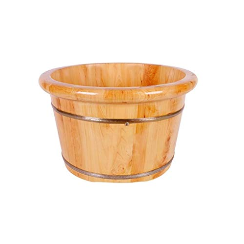 Lowest Prices! Footbath,Wooden Foot Bath Barrel Wooden Household Durable Health Foot Washing Bucket ...