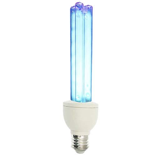 SODIAL E27 Lampada UV a Raggi Ultravioletti Lampada Disinfezione Lampada Germicida Lampada 15W Lampada UV Ozono 220V