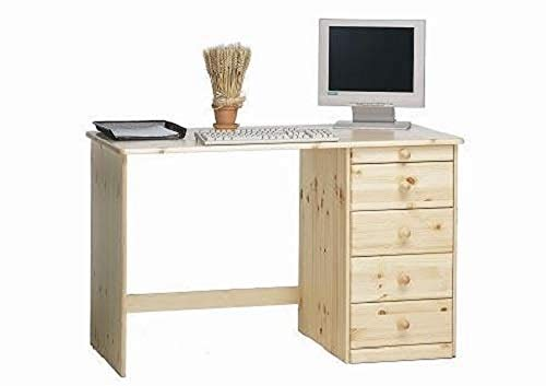 Steens 16327119 Kent 77 x 120 x 60 cm escritorio de madera de pino, madera lacada