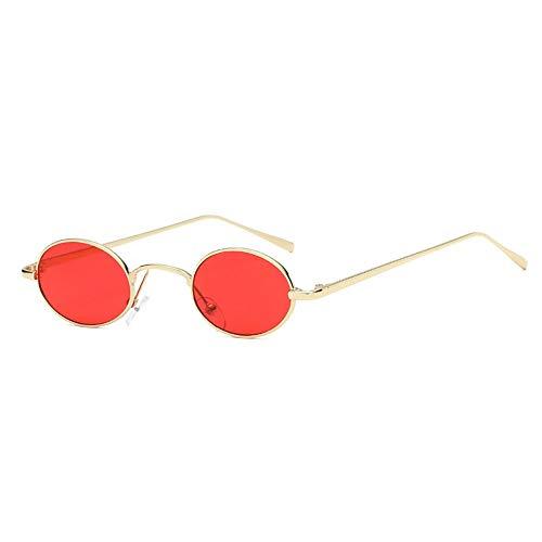 ZzheHou Gafas De Sol para Mujer Marco Redondo Pequeño Gafas de Sol...