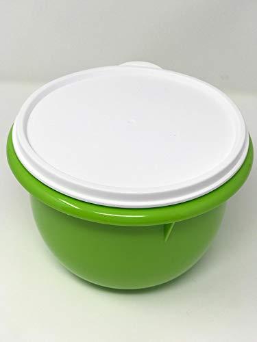 Tupper TUPPERWARE Schüssel 1L grün Rührschüssel Peng 1,0 Liter Dotterle Mixing Bowl Germteigschüssel