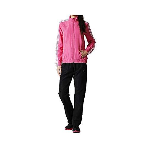adidas 3S Woven Sport - Chándal para mujer, color rosa, color rosa, tamaño 36