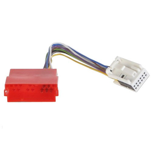 CD Wechsler-Adapter 8-Pin Wechsler an 12-Pin Radio Adapter Mini ISO -> Most Quadlock kompatibel mit VW, Audi Delta, Navigation Plus, MFD, RNS-E, Stream, Nexus, Cruise, RCD, RNS, MFD2, NAvi DX, RNS2