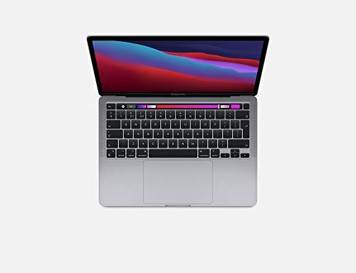 Steady Comps Ltd Mac 13' Pro Laptop 2020 M1 Chip 8-Core CPU & GPU/16 Core Neural Engine/512GB SSD Storage/16GB Unified Memory/Touch ID/Touch Bar