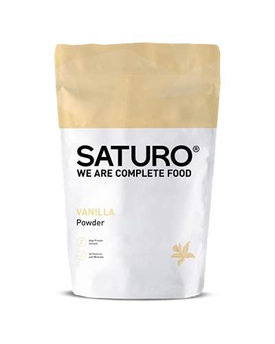 SATURO® Mahlzeitersatz Shake Vanille | Veganer Diät Shake Mit 25g Eiweiß & 26 Wertvollen Nährstoffen | Proteinshake | 1,4kg