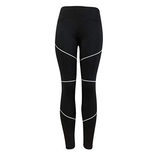 URIBAKE ❤ Fashion Women's Leggings Workout Tights Fitness Sports Gym Running Yoga Athletic Pants(Black,S)